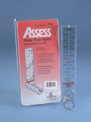 Assess Peak Flow Meter - Full Range