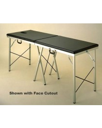 Portable Massage Table Solid Top 24 W X 72 L X 30 H X 2
