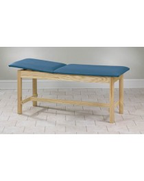 Treatment Table H-Brace Rising Top w/o Shelf 30x72x31