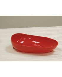 Scooper Dish Redware w/Non-Skid Base