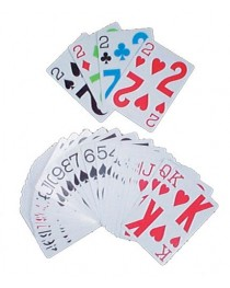 Playing Cards-Large Face