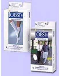 Jobst Sensifoot Over-The-Calf Sock White X-Small