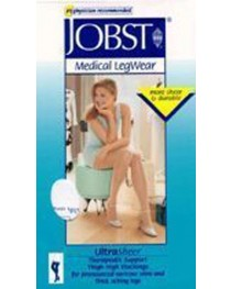 Jobst UltraSheer 8-15 mmHg Pantyhose-Sun Bronze Medium