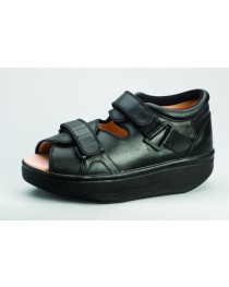 Wound Care Shoe X-Large Black Pair