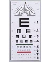 Illiterate Eye Chart 22 x11