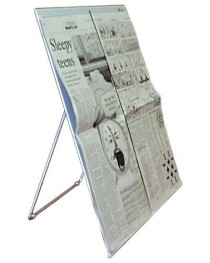 Newspaper Stand w/Page Holder