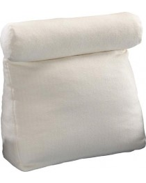 Work In Bed Pillow Gold  19  x 25