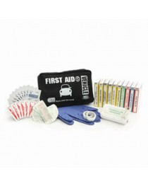 First Aid Kit Vehicle in Black Nylon Bag