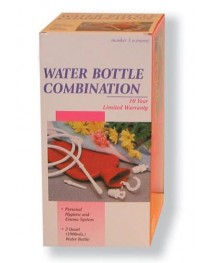 Fountain Syringe And Hot Water Bottle-Combo Unit
