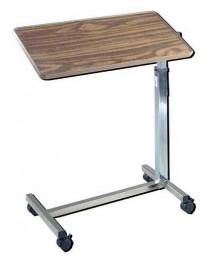 Overbed Table - Tilt Top Economical
