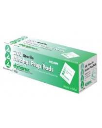 Alcohol Prep Pads Sterile Medium Bx/ 200