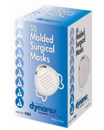 Surgical Cone Shaped Face Mask Bx/50  Blue