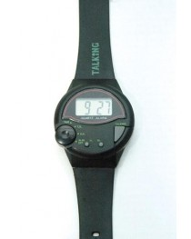 Talking Wrist Watch-English Round Face