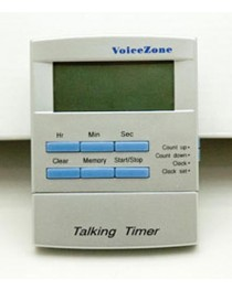 Talking Clock & Timer w/Alarm