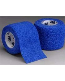 Coban Self-Adherent Wrap 3 x5 Yd Assorted Colors Bx/12