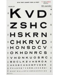 Illuminated Eye Chart-Snellen 10' Distance