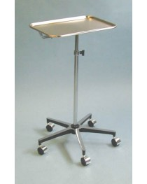 Dual Position Mayo Instrument Stand w/5-Wheel Base