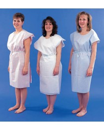 Paper Patient Exam Gowns- Blue Bx/50