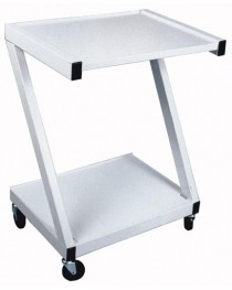 Z-Cart Steel  2-Shelf White