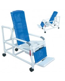 Shower/Commode Chair PVC Tilt-N-Space