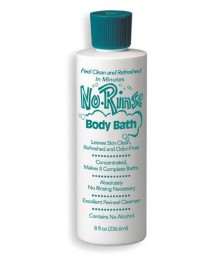 No Rinse Body Bath  16 oz.