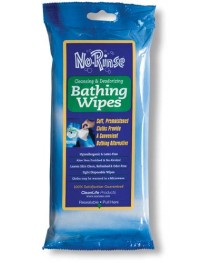 No Rinse Bathing Wipes  Pk/8