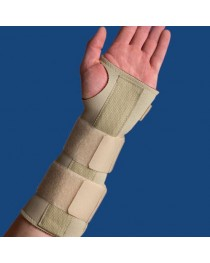 Wrist Forearm Splint  XX-Large Right  10 1/4  x 11 1/4   Beig