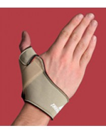 Flexible Thumb Splint  Left Small  Beige