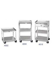 Mobile Cart- 2 Shelf- MB 19-1/2 Hx18-3/4 Wx16-3/4 D
