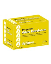 White Petrolatum Bx/144 5 gm Foil Packs