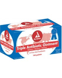 Triple Antibiotic Ointment 9 gm Foil Pack Bx/ 144