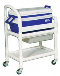 Hydration Ice Chest w/ Cart 31 L x 20 W x 37.5 H