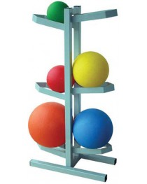 Medicine Ball Rack for 6 Balls Free Standing