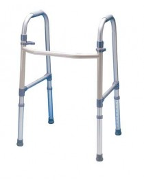 Dual Paddle Folding Walker Adult By Carex