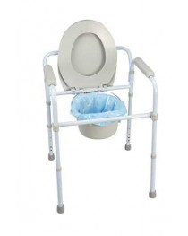 Commode  Folding Deluxe Carex