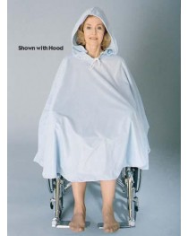 Wheelchair Shower  Poncho With Hood