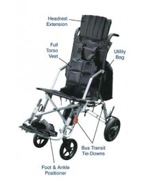 Trotter Mobility Positioning Chair  18  Wide